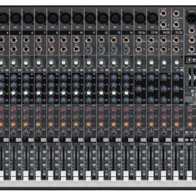 Tout simplement professionnelle Le mélangeur ProFX22 vous offre la meilleure solution pour la sonorisation de groupes de musiciens évoluant dans les salles de taille moyenne