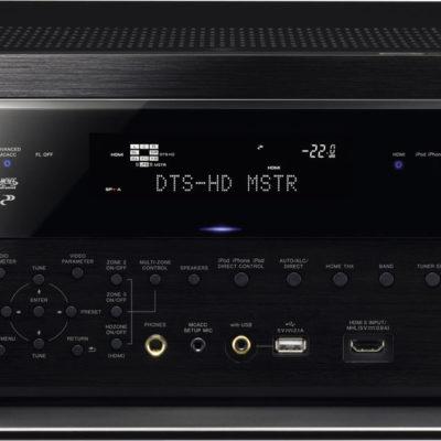 L'amplificateur home-cinéma Pioneer SC-LX87 est un modèle 9.2 en classe D certifié THX Ultra2 délivrant jusqu'à 9x220 Watts