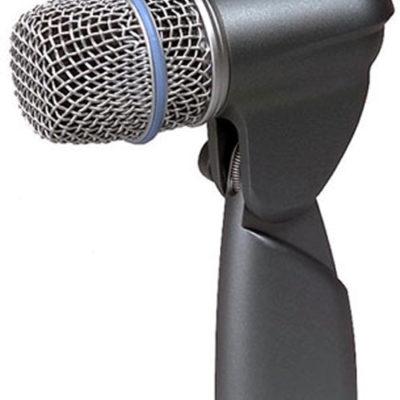 Le Beta 56A est un microphone professionnel et compact pour batterie conçu pour la prise de son de proximité des toms et de la caisse claire. Sa directivité supercardioïde permet un maximum d'isolation contre les autres bruits sur scène.