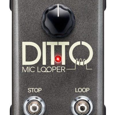 Pédale de Looper TC-HELICON pour guitare électrique